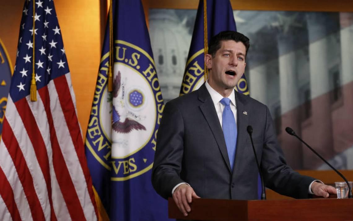 Paul Ryan anuncia su retiro y desata batalla por liderazgo en Congreso de EU
