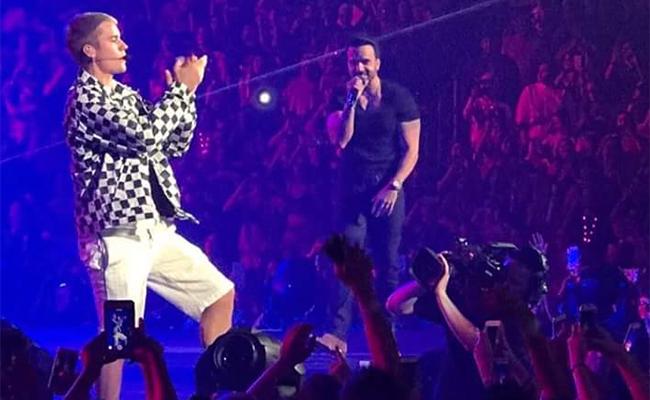 """Justin Bieber y Luis Fonsi cantan juntos """"Despacito"""""""