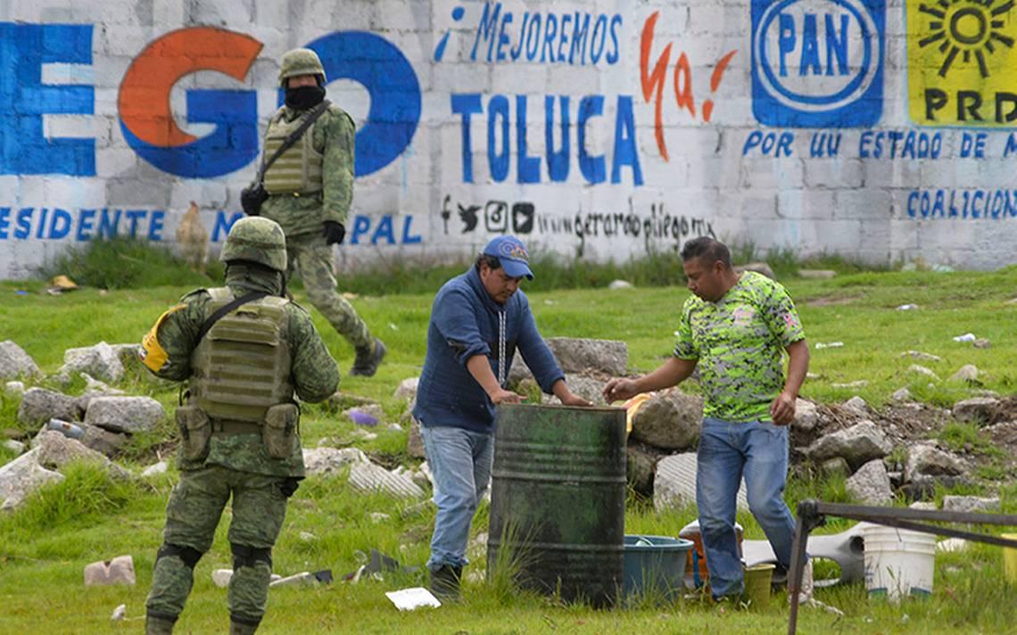 Toluca, la nueva ruta del huachicol