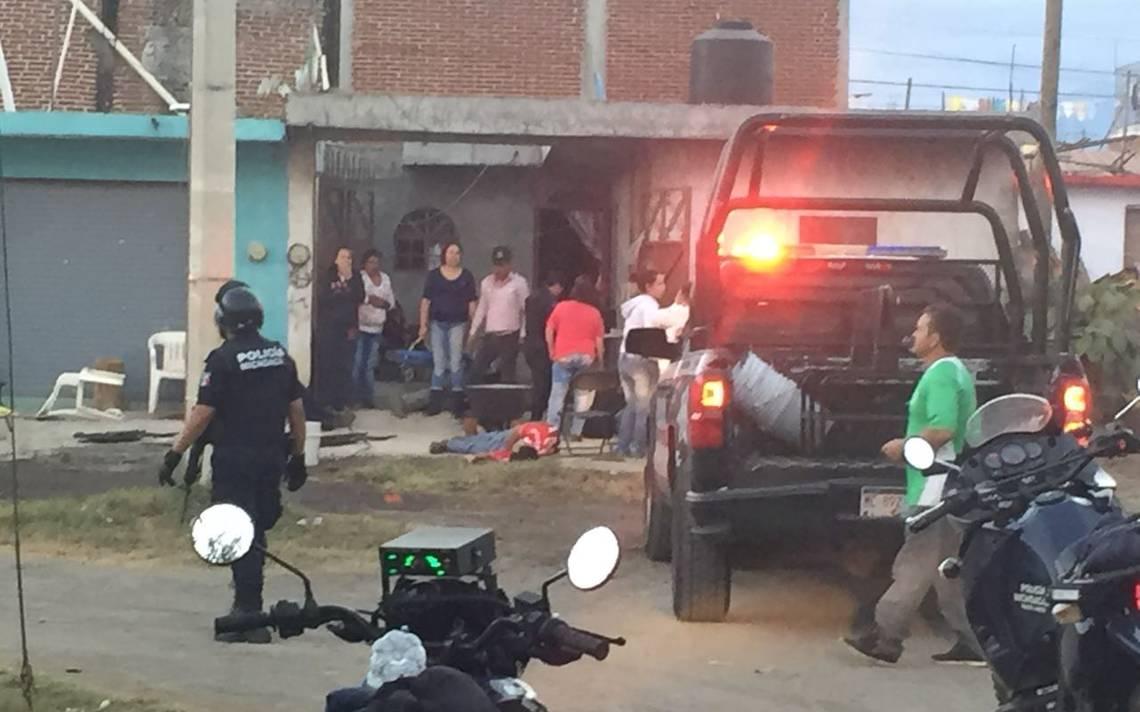 Mueren seis personas en ataque durante convivio en Uruapan