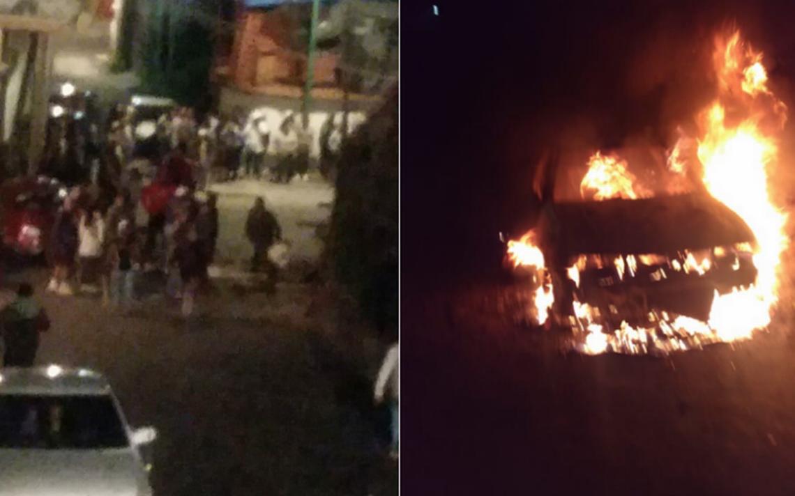 Tras turba, policía rescata a secuestrado en Tlalpan
