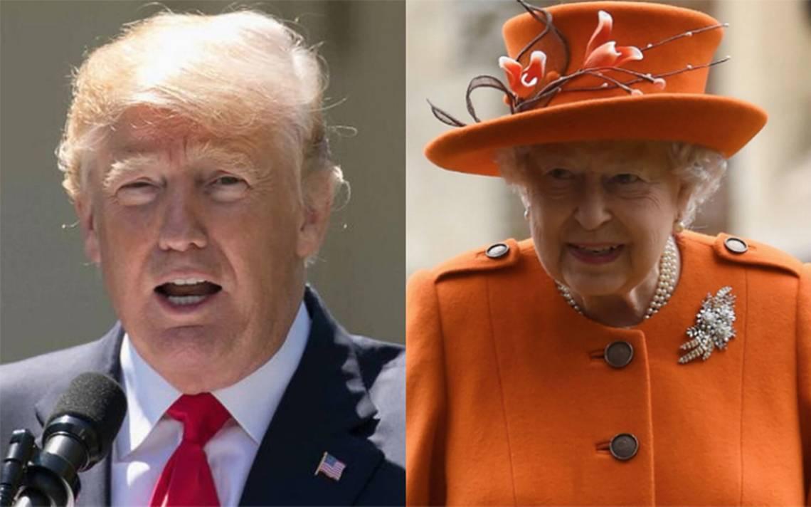 En medio de protestas, Trump se verá con la reina Isabel II fuera de Londres