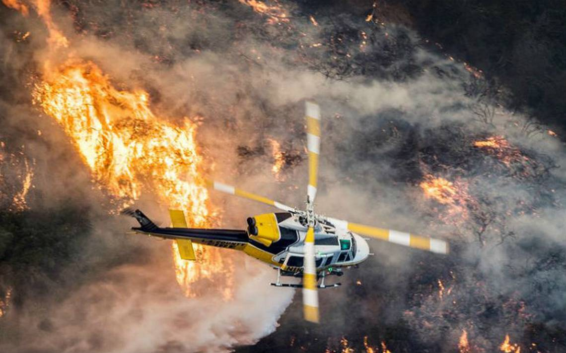 Incendios al sur de California, consumen más de mil casas