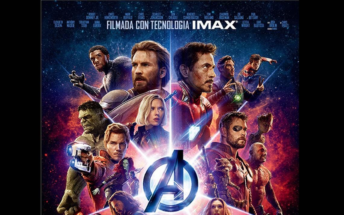 """Avengers: Infinity War"" rompe rA�cord en salas IMAX de MA�xico"