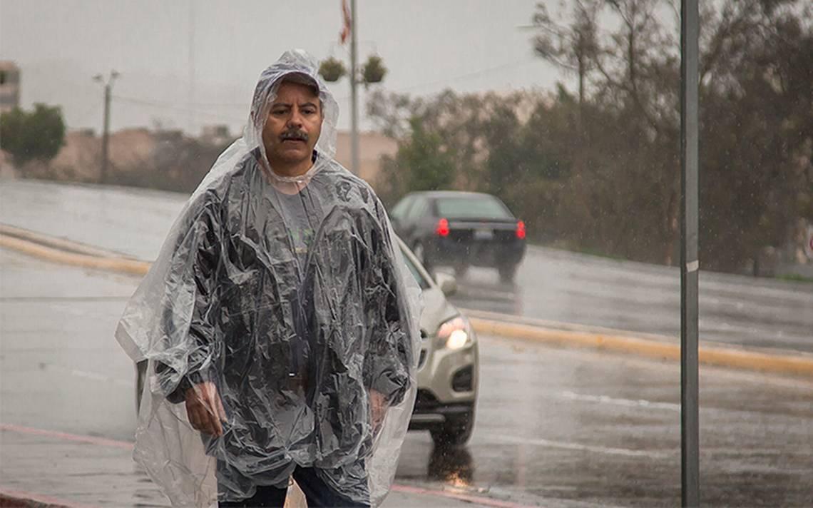 A partir de hoy se prevé temporal lluvioso en la mayor parte del país