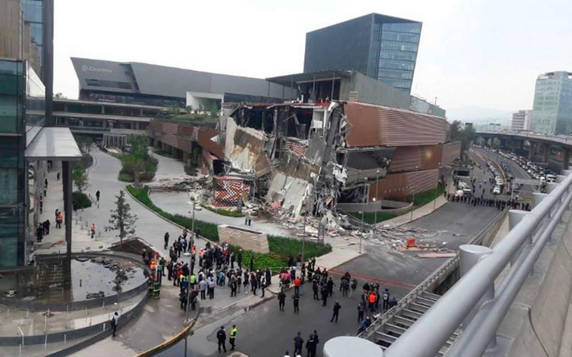 Colapso en plaza Artz Pedregal fue por mal diseño estructural: Fiscalía capitalina