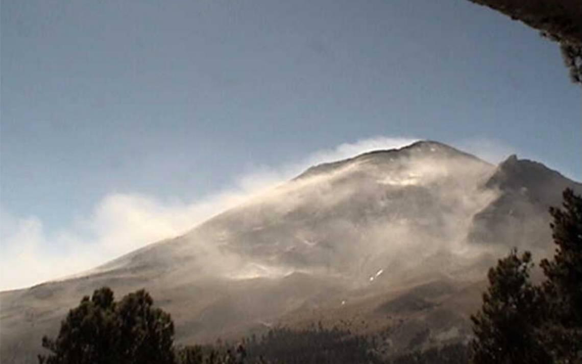 Volcán Popocatépetl emite 248 exhalaciones; alerta está en Amarillo Fase 2