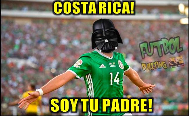 """Memes celebran a """"ChichaDios"""" y victoria del Tri ante Costa Rica"""