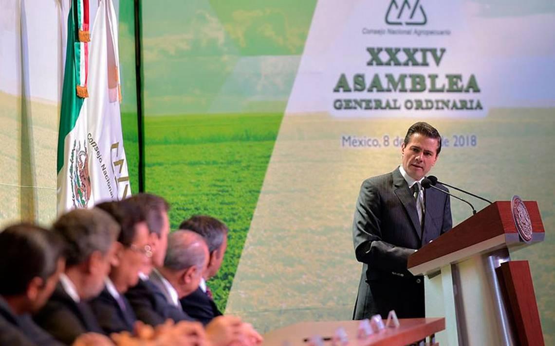 Hay que romper con el mito de la autosuficiencia: Peña Nieto