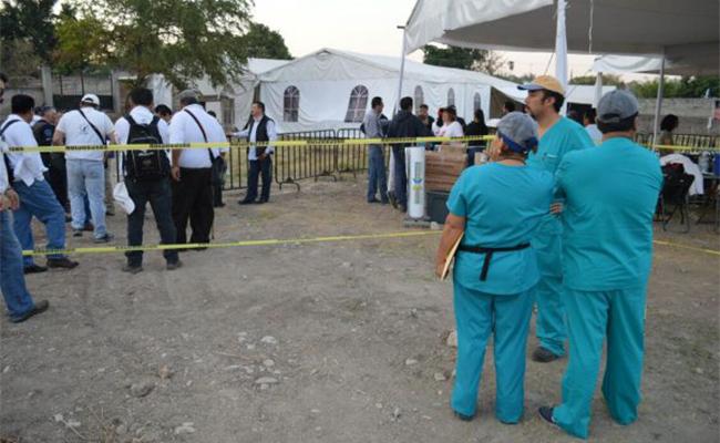 Rescatan el primer cuerpo de fosa clandestina en Jojutla