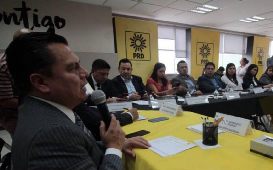 PRD pedirá al INE le organice su elección interna