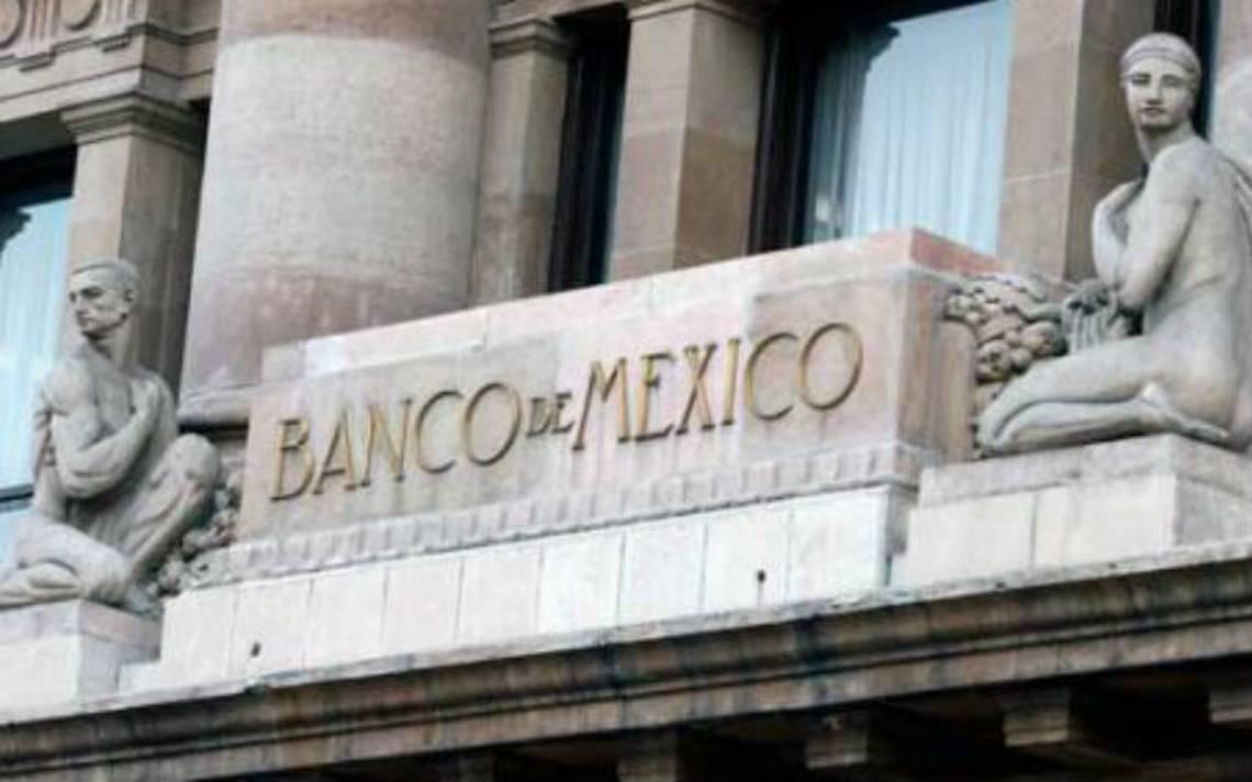 Banxico prevé reducción de crecimiento económico para 2018 y 2019