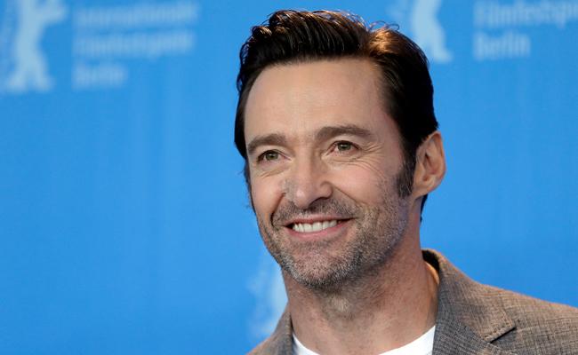 """Hugh Jackman le declara su amor a """"Logan"""" en la Berlinale"""