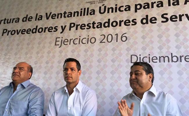 Abren Ventanilla Única para pagar deudas de Gabino Cué