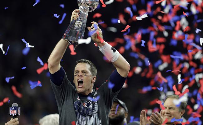 Así celebran los Patriotas su campeonato del Super Bowl LI