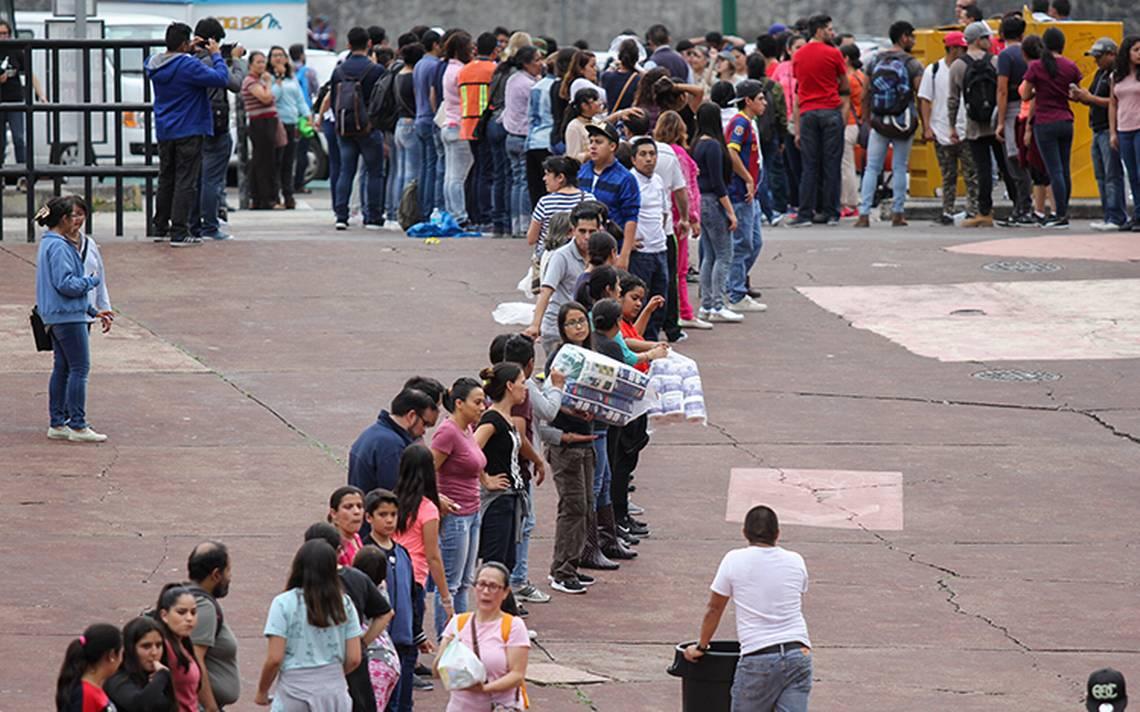 UNAM retoma control de centro de acopio en Estadio Olímpico