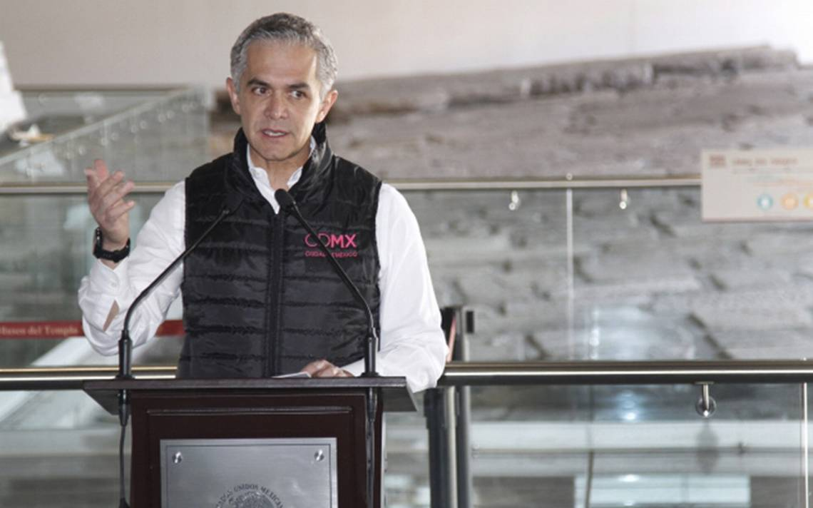 Quien quiera gobernar a la CDMX debe saber a lo que se enfrenta, advierte Mancera