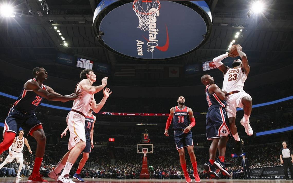 LeBron James se consagra con triple doble en juego contra Washington Wizards