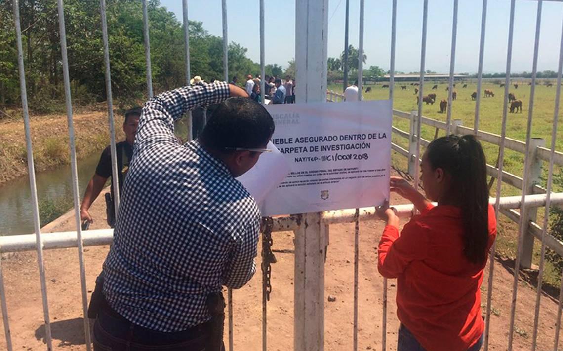 """Aseguran rancho """"El Sueño"""" de Roberto Sandoval, exgobernador de Nayarit"""