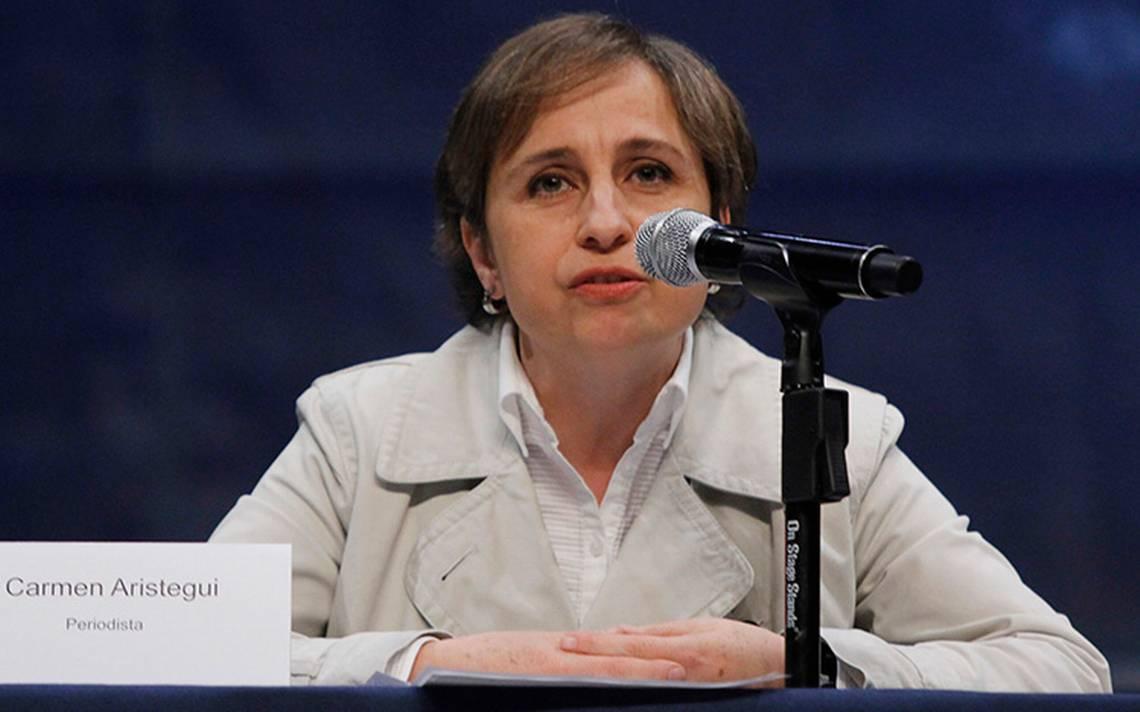 Carmen Aristegui regresa a la radio: esta es la hora y estación de su nuevo noticiero