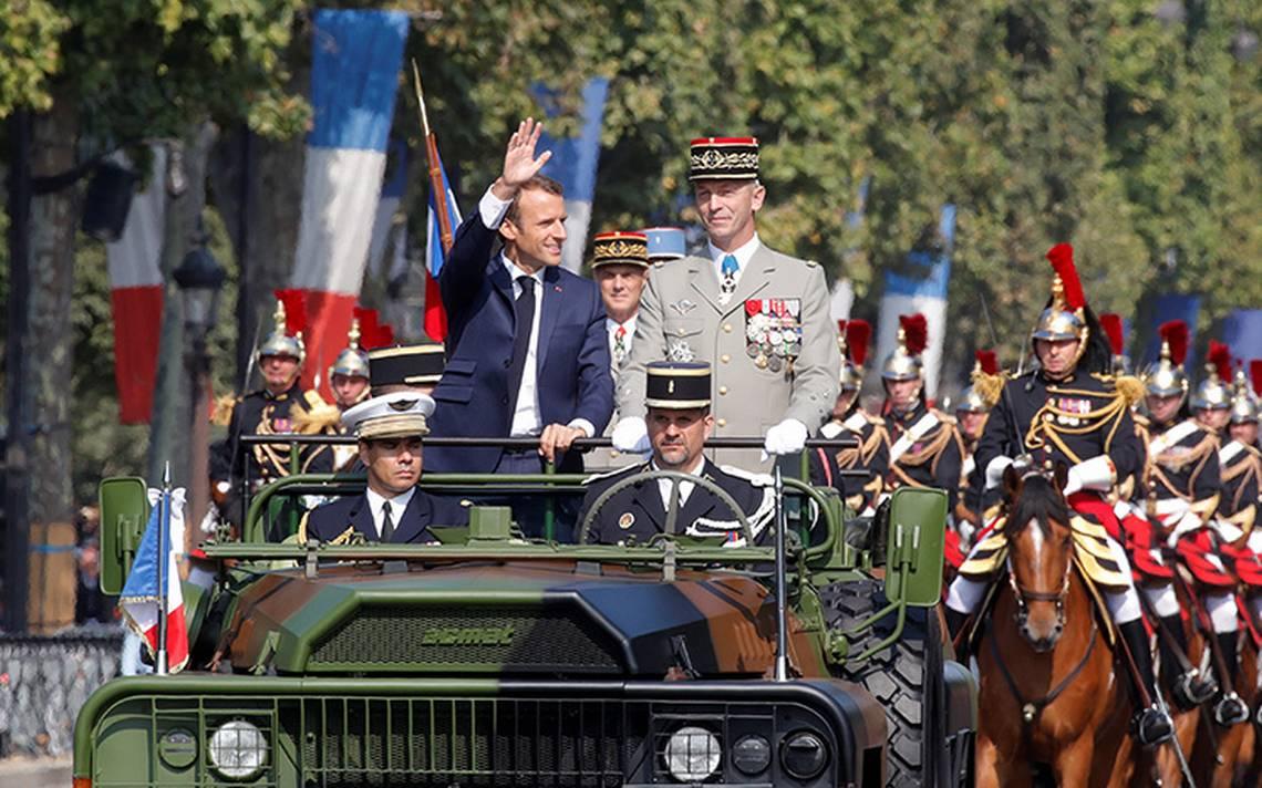 Francia conmemora la toma de la Bastilla con desfile en los Campos Elíseos