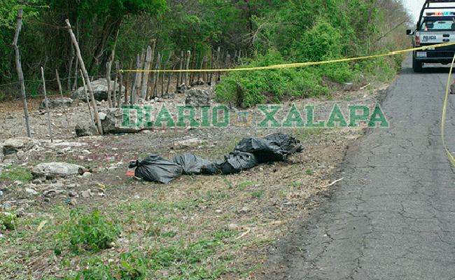 Hallan bolsas con restos humanos cerca de Rinconada