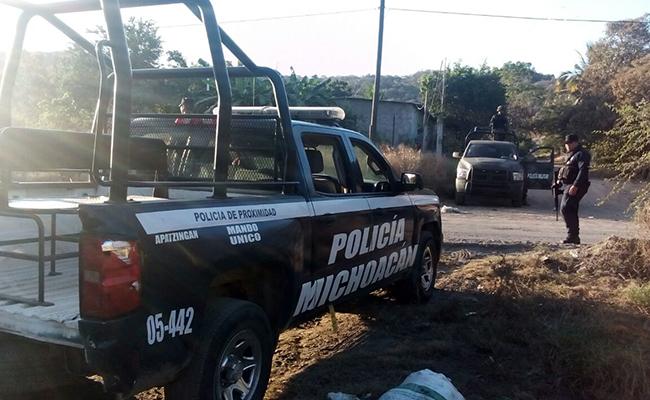 Por manifestantes, SSP resguarda regiones de Michoacán