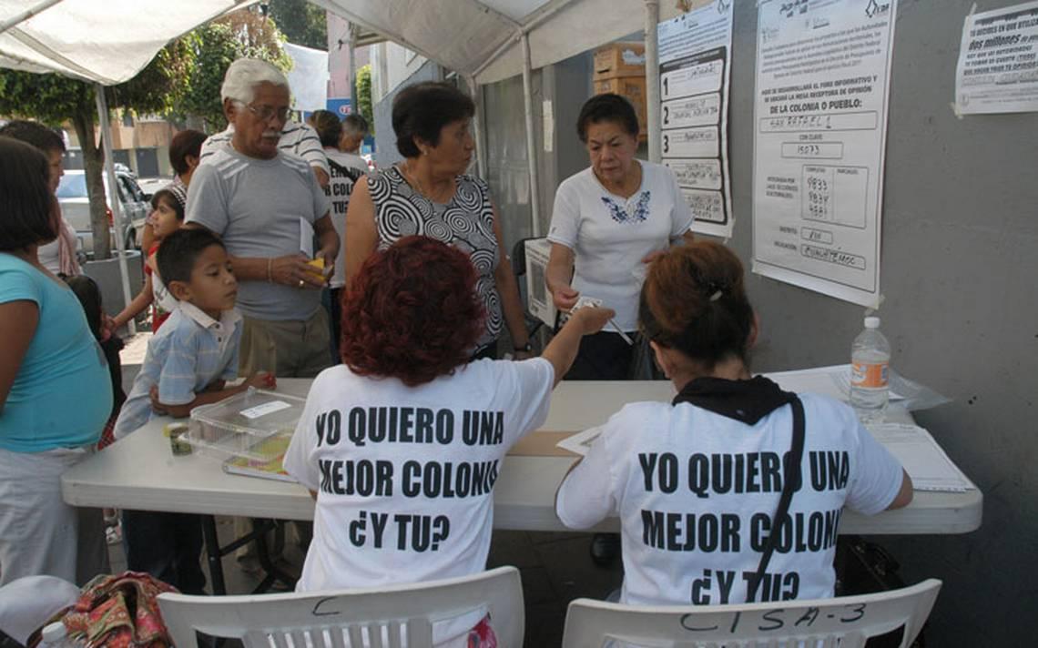 Capitalinos saldrán a elegir proyectos para mejorar colonias