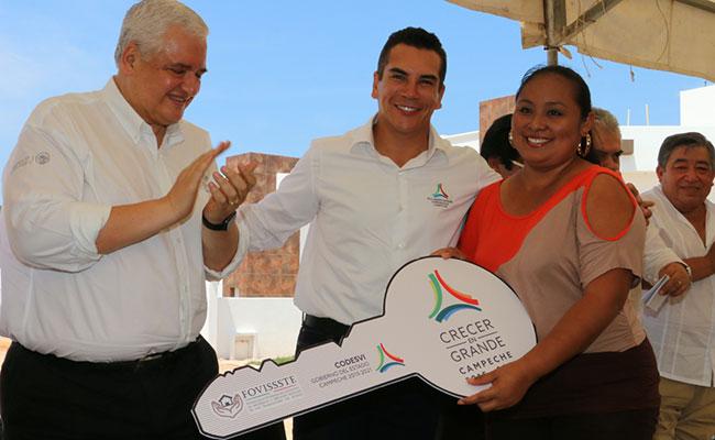 Ratifica Fovissste su respaldo a Campeche
