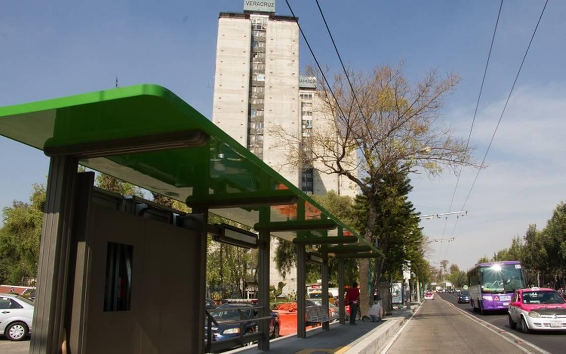 Casi lista Línea 7 del Metrobús tras avance del 80 por ciento