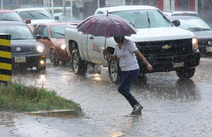 Onda tropical 19 y zona de inestabilidad ocasionarán lluvias en todo el país