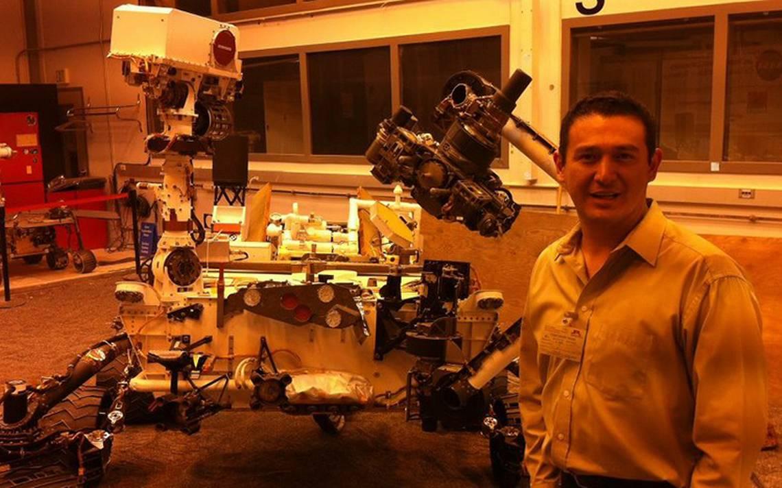 Chiapaneco viajará en misión de la NASA a Marte
