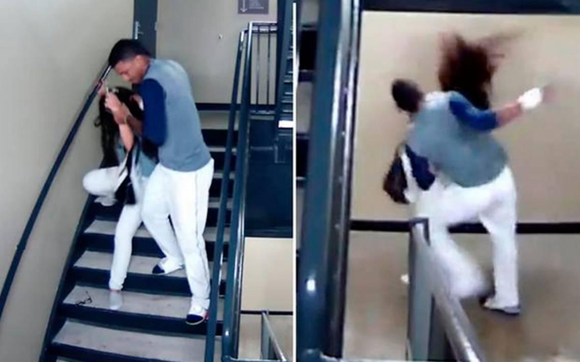 [Video] Beisbolista venezolano golpea brutalmente a su novia