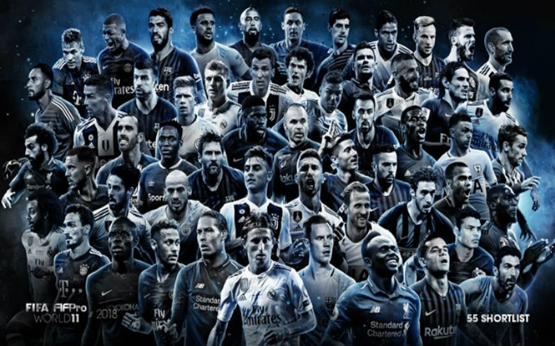 Ellos son los nominados para el 11 ideal de la FIFA 2018