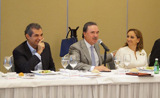 El PRI no teme al Frente opositor, asegura su líder, Enrique Ochoa Reza