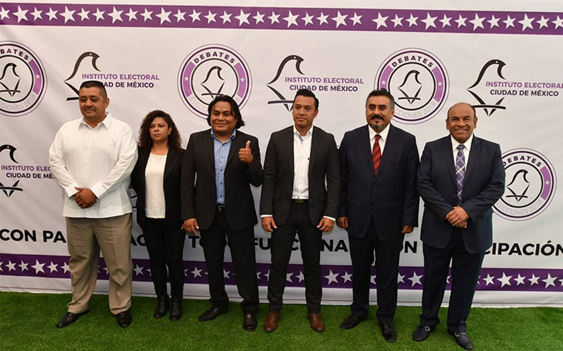 Así los debates a diputados locales de la Ciudad de México