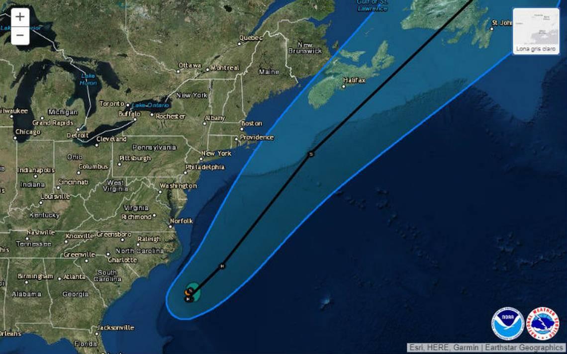 Se forma la tormenta tropical Chris frente a costas de EU