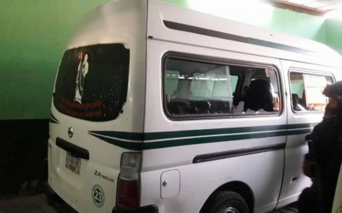 Atentado contra base de combis en Guerrero deja dos muertos y cuatro heridos
