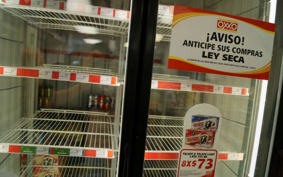 Suspenden venta de bebidas alcohA?licas en 12 colonias de la GAM