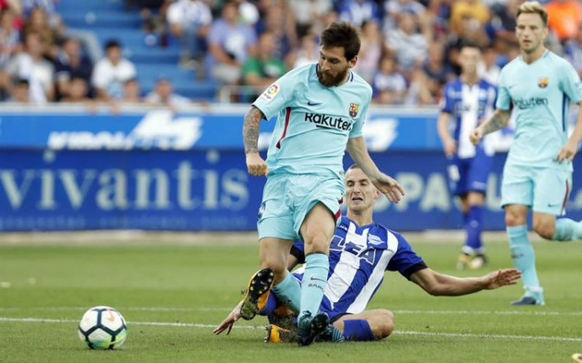 Doblete de Messi conduce al Barça a la victoria