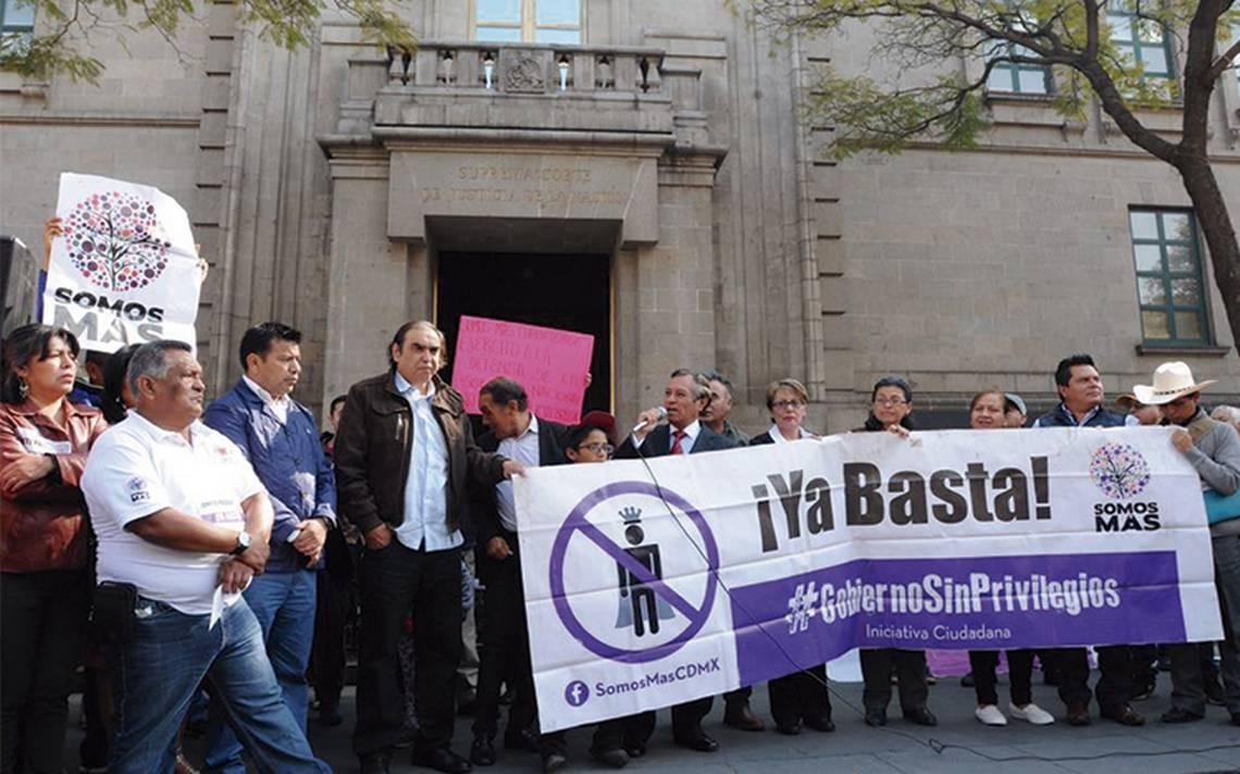 Colectivo exige a la Suprema Corte que analice Ley de Seguridad