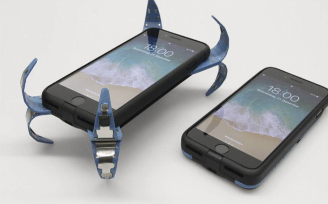 Estudiante alemán crea prototipo anti-caídas para smartphones
