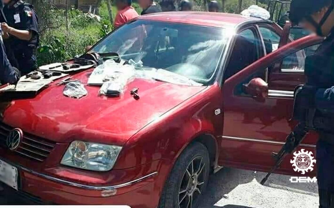 Detienen a ex candidato a alcaldía de Zumpango con armas y efectivo