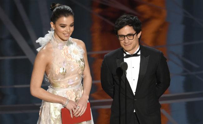 Estoy en contra de cualquier muro, dice Gael García en el Oscar