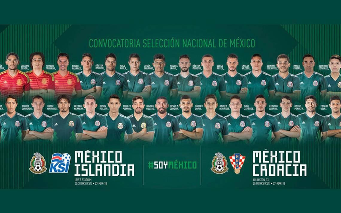 Lista la convocatoria del Tricolor para amistosos contra Islandia y Croacia