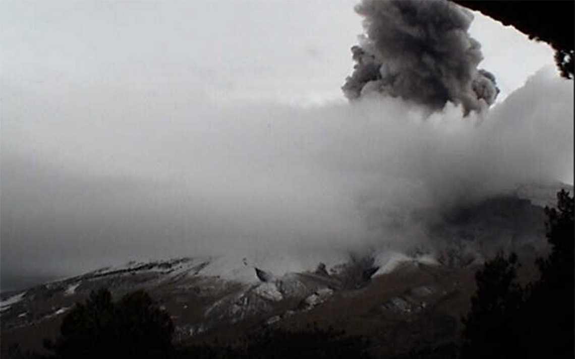 ¿Qué causó la gran explosión del Popocatépetl? Cenapred lo explica