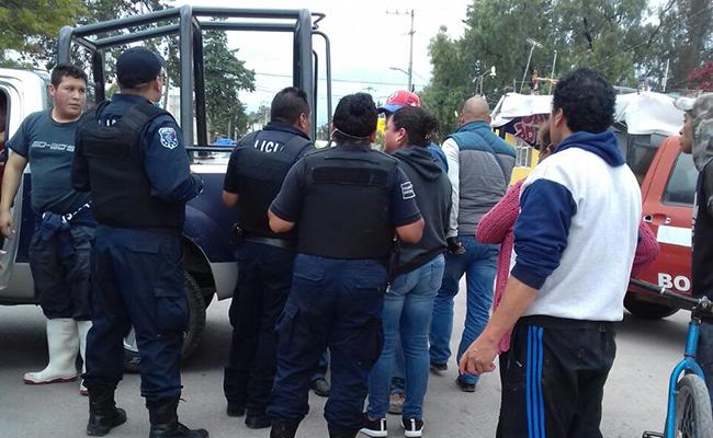 Evacúan a estudiantes por fuga de amoniaco en Atenco