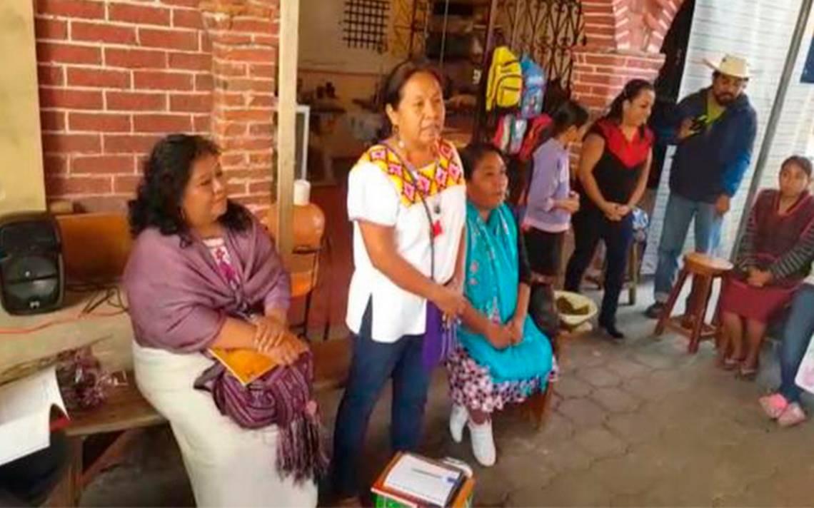Solo vienen a los pueblos indígenas durante elecciones, acusa Marichuy