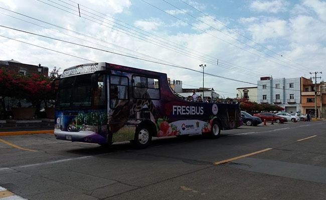 Fresibús, la opción para saber la historia de Irapuato