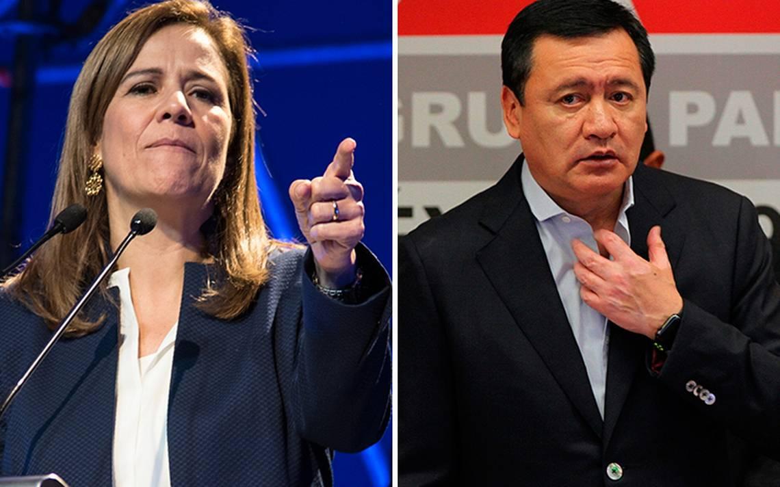 """""""¿Era un chiste?"""", Zavala cuestiona a Osorio por comparar a mujeres con huracán Katia"""